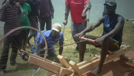 Sõudeergomeeter Ugandal